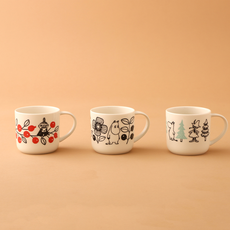 CAFE@HOME ムーミン谷 FIKAセットとペアマグのセット