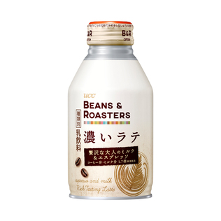 BEANS & ROASTERS 濃いラテ リキャップ缶 260g