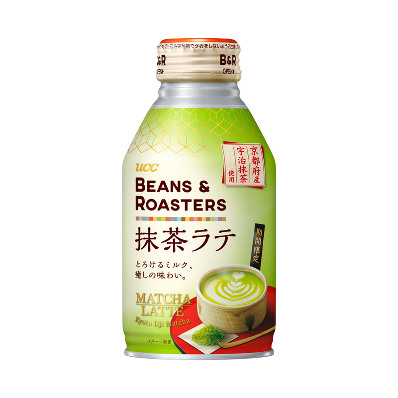 BEANS & ROASTERS 抹茶ラテ リキャップ缶 260g