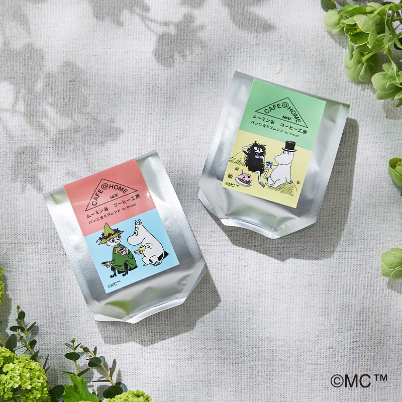 CAFE@HOME ムーミン谷 コーヒー工房 ギフトセット 4袋入り